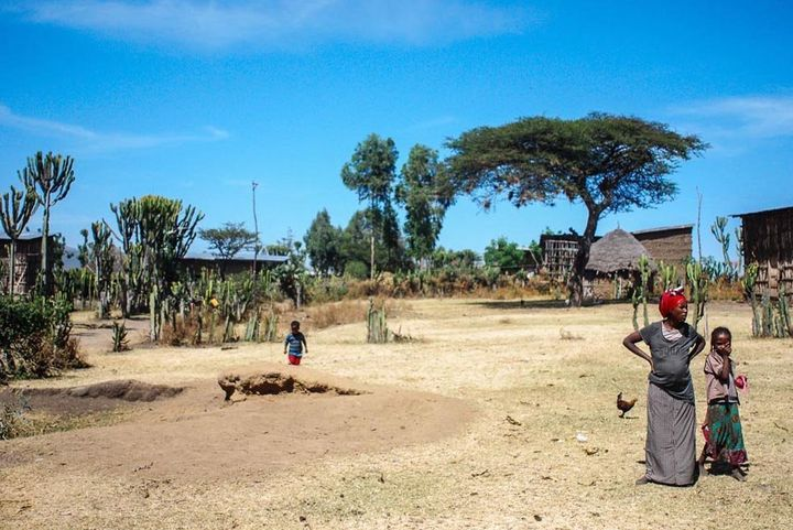 In Bugune's village of Toga, trachoma is rampant, but awareness of the disease is still lacking.