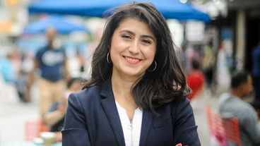 Jessica Ramos, a state Senate candidate in New York's 13th District, is one of eight progressives challenging...