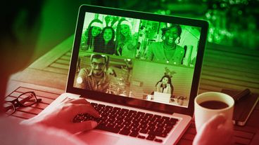 Virtual holiday parties are one creative way to include remote colleagues in seasonal fun.