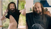 Jason Momoa Fights The Hot In Deeply Unsettling Super Bowl